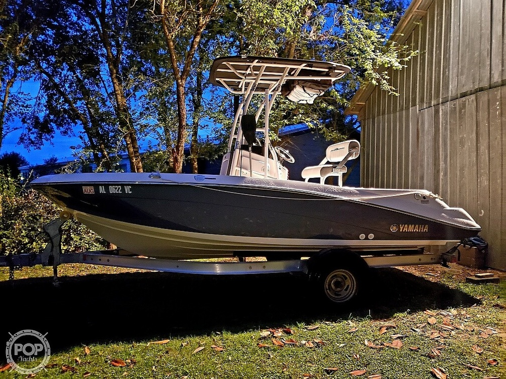 2018 Yamaha boat for sale, model of the boat is 190 FSH Sport & Image # 4 of 41