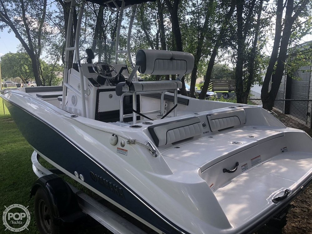 2018 Yamaha boat for sale, model of the boat is 190 FSH Sport & Image # 7 of 41