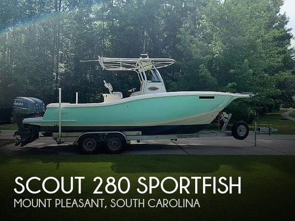 Used Power boats For Sale in Charleston, South Carolina by owner | 2006 Scout 280