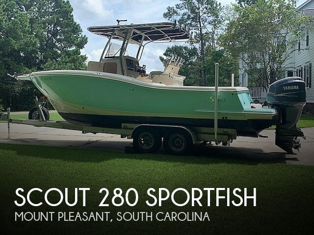 2006 SCOUT 280 SPORTFISH for sale