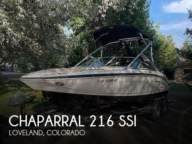 Used Boats For Sale in Cheyenne, Wyoming by owner | 2012 Chaparral 216 SSi