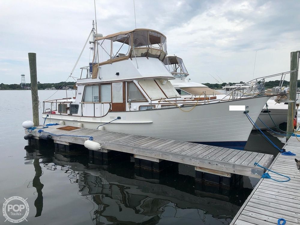 1980 Island Gypsy boat for sale, model of the boat is 36 Aft Cabin & Image # 13 of 40