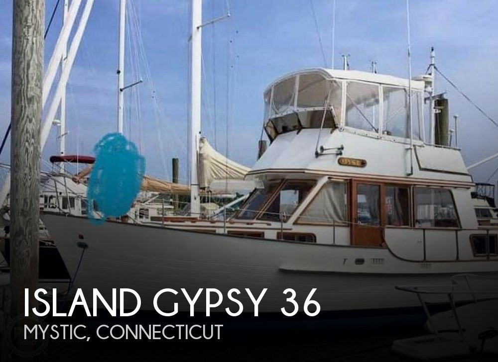 1980 Island Gypsy boat for sale, model of the boat is 36 Aft Cabin & Image # 1 of 40
