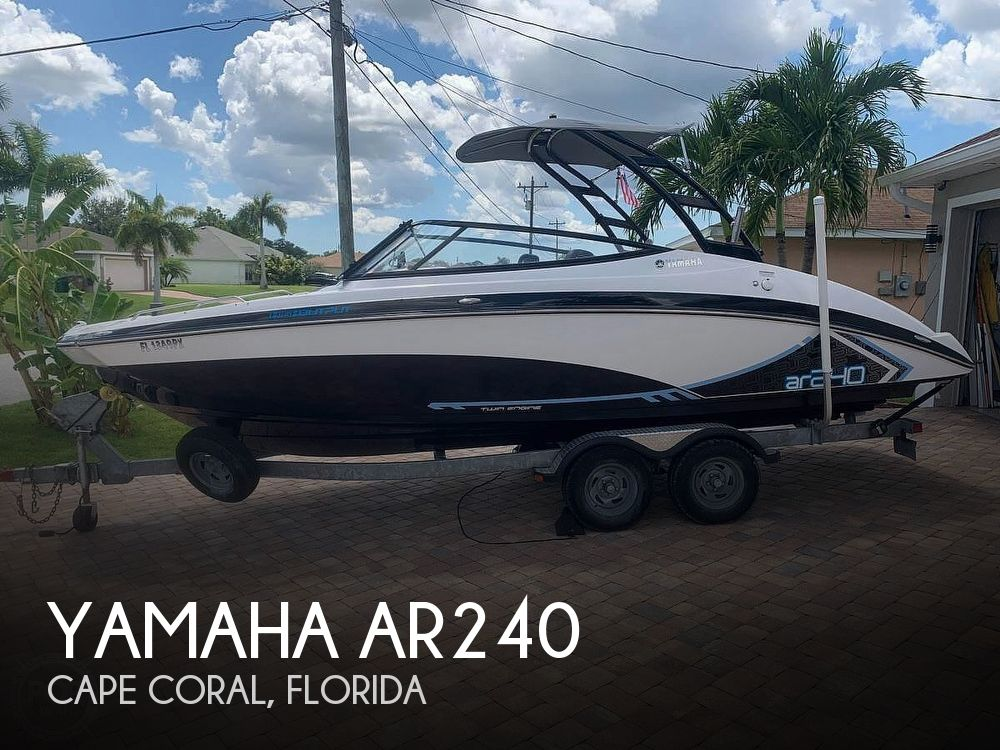 Used Yamaha Boats For Sale in Cape Coral, Florida by owner | 2015 Yamaha AR240