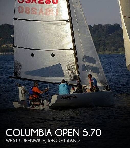 2009 Columbia boat for sale, model of the boat is Open 5.70 & Image # 1 of 40
