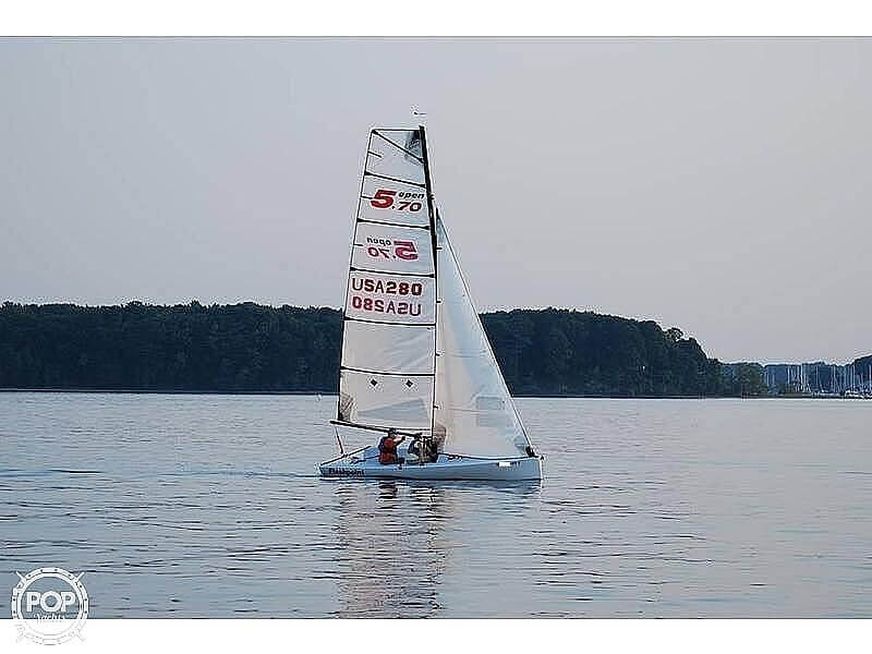 2009 Columbia boat for sale, model of the boat is Open 5.70 & Image # 3 of 40