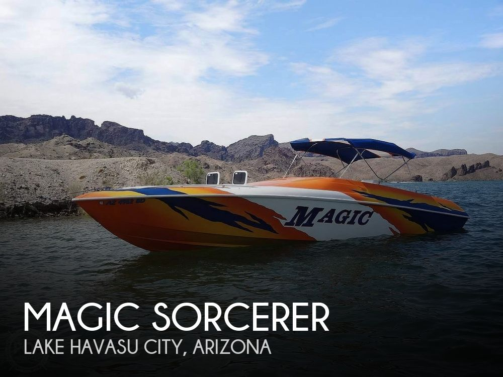Used Magic Boats For Sale by owner | 2001 34 foot Magic Sorcerer