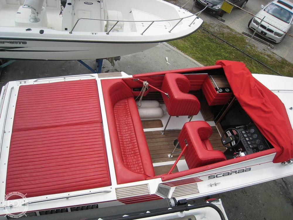 1986 Scarab boat for sale, model of the boat is Panther 30 & Image # 15 of 40