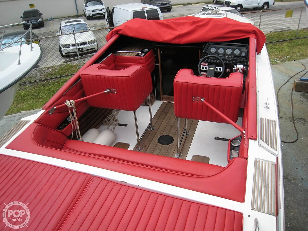 1986 Scarab boat for sale, model of the boat is Panther 30 & Image # 16 of 40