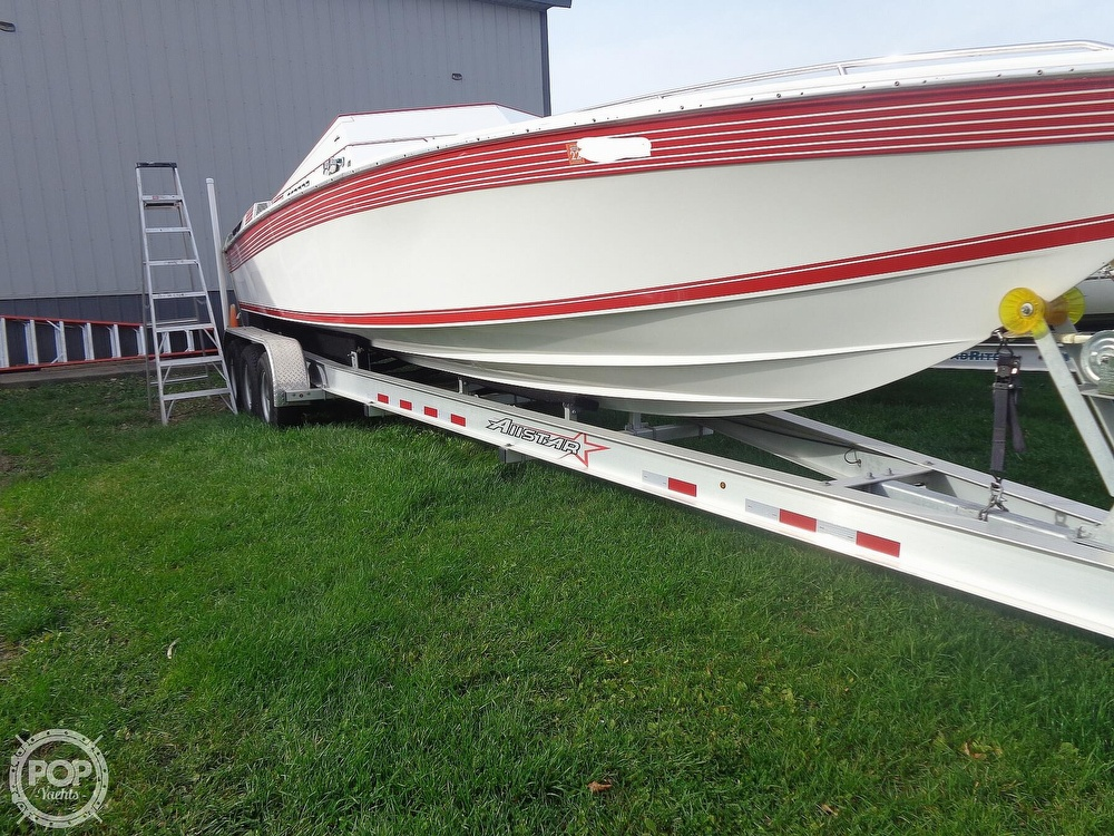 1986 Scarab boat for sale, model of the boat is Panther 30 & Image # 6 of 40