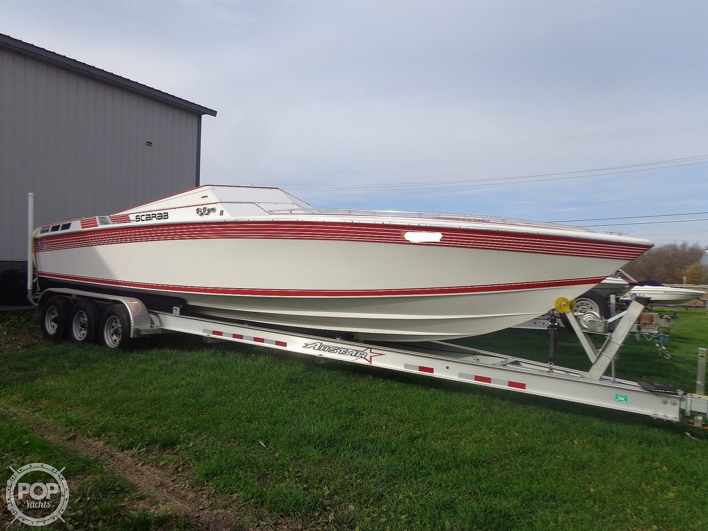 1986 Scarab boat for sale, model of the boat is Panther 30 & Image # 5 of 40