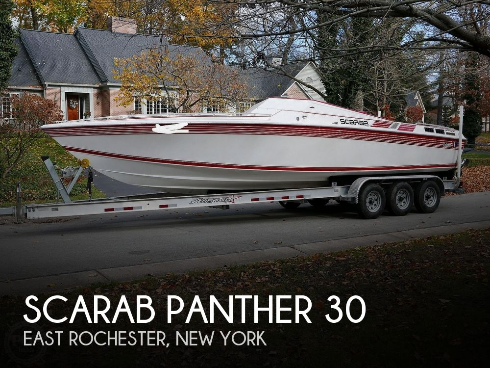 1986 Scarab boat for sale, model of the boat is Panther 30 & Image # 1 of 40