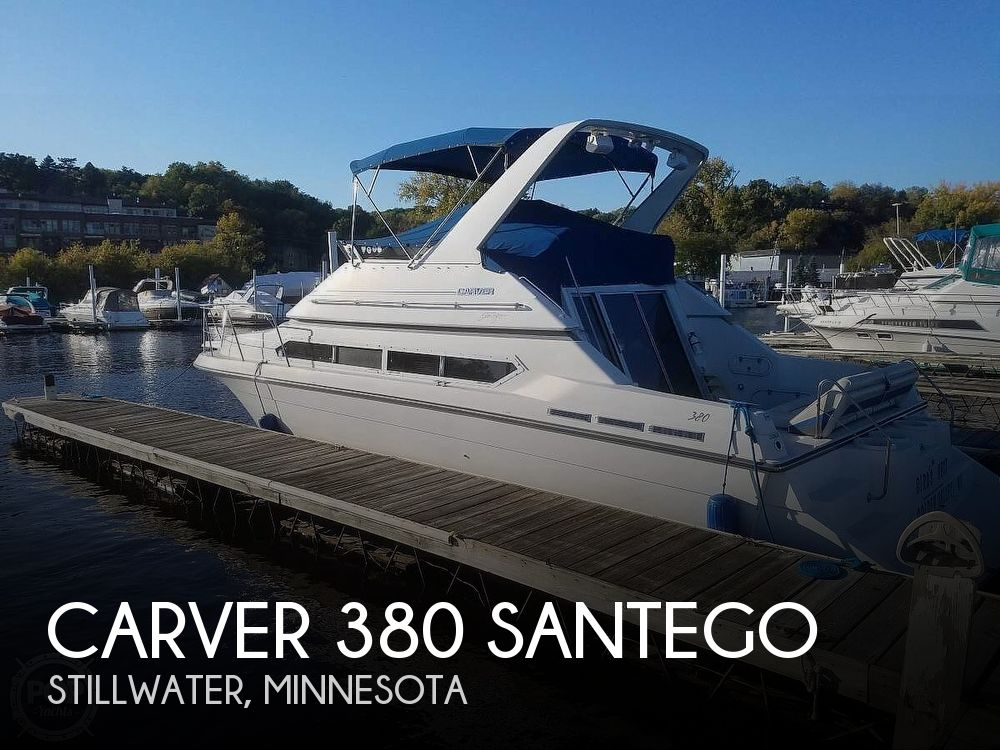1993 Carver boat for sale, model of the boat is 380 Santego & Image # 1 of 22