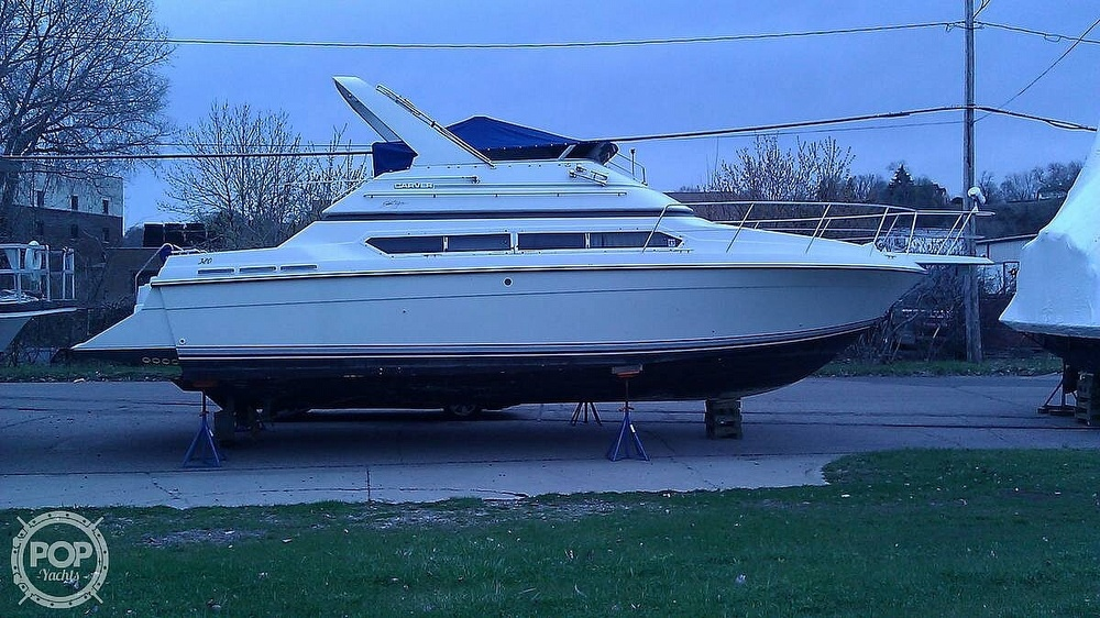 1993 Carver boat for sale, model of the boat is 380 Santego & Image # 8 of 22
