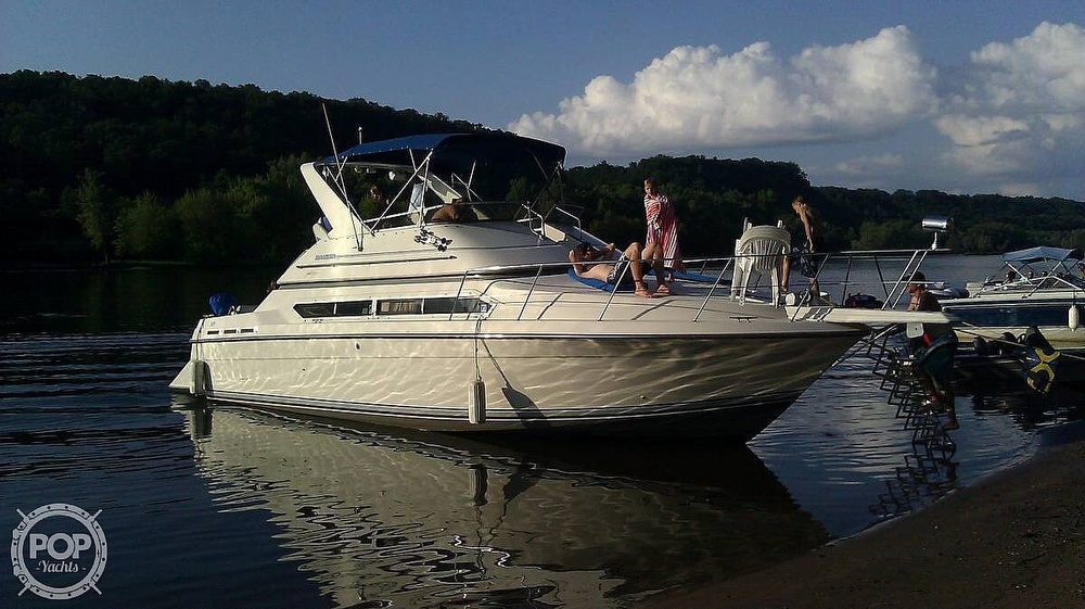 1993 Carver boat for sale, model of the boat is 380 Santego & Image # 21 of 22