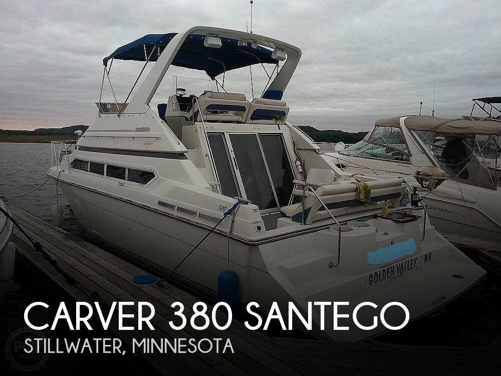 1993 Carver boat for sale, model of the boat is 380 Santego & Image # 1 of 40