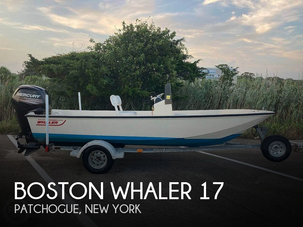 Used Boston Whaler Boats For Sale in New York by owner | 1984 Boston Whaler 17 Montauk