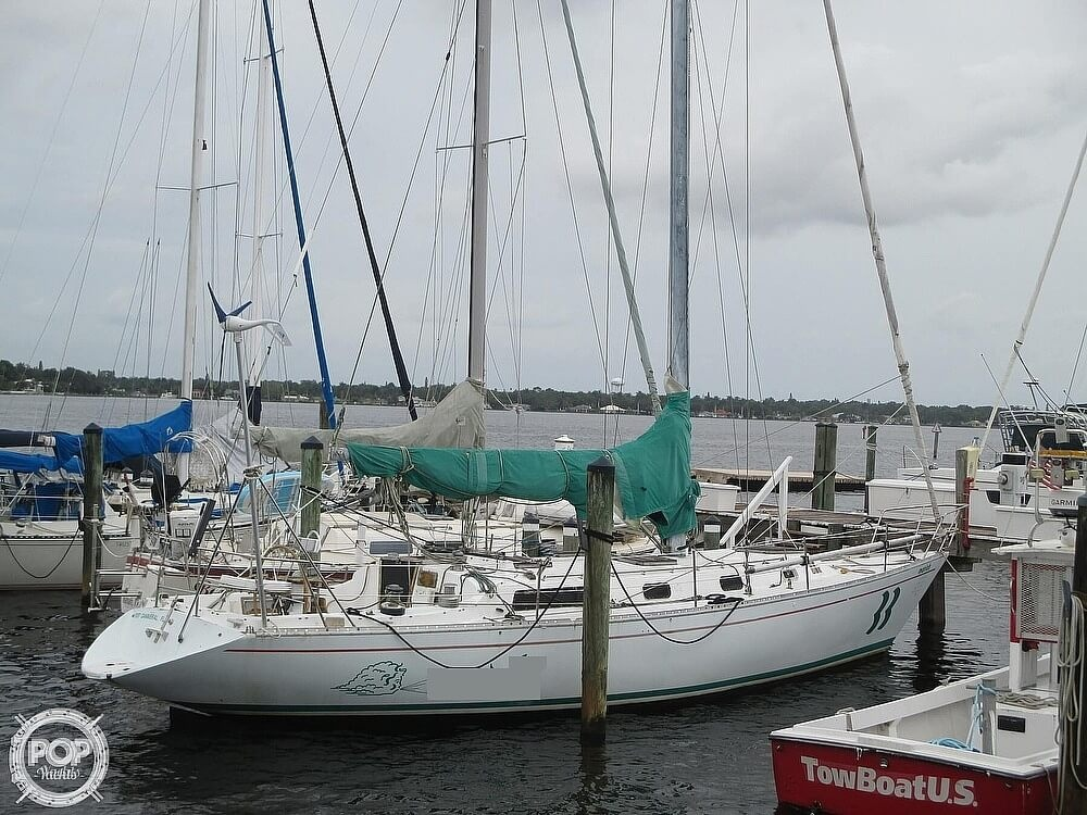 1979 Irwin boat for sale, model of the boat is 39 Citation & Image # 2 of 40