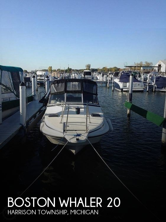 Used Boston Whaler 22 Boats For Sale by owner | 1987 Boston Whaler Revenge 22 W.T.