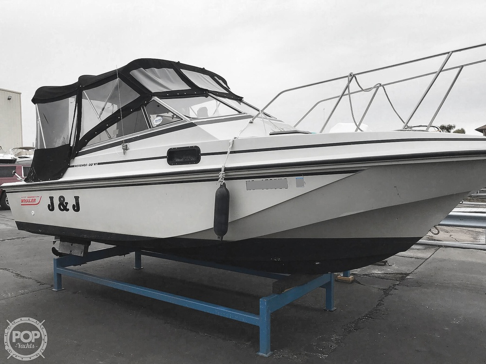 1987 Boston Whaler boat for sale, model of the boat is Revenge 20 W.T. & Image # 9 of 40