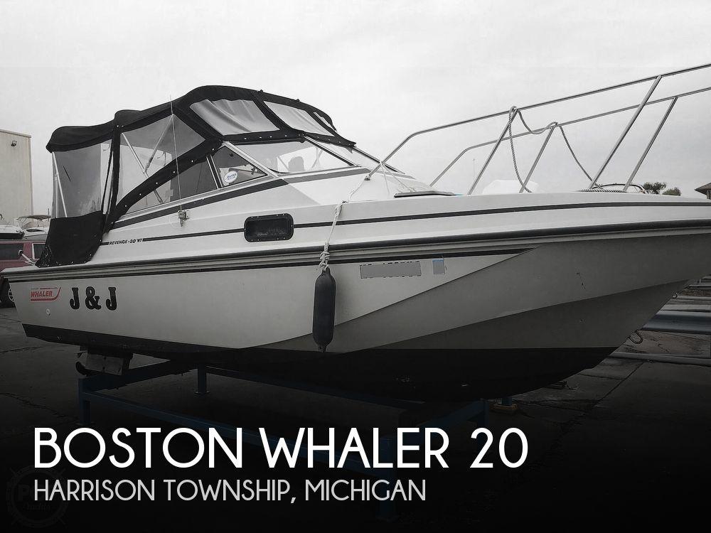 1987 BOSTON WHALER REVENGE 20 W.T. for sale