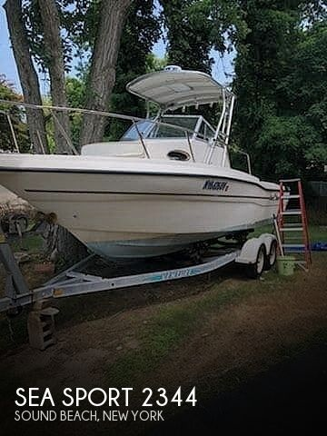2001 Seasport boat for sale, model of the boat is 2344 & Image # 1 of 13