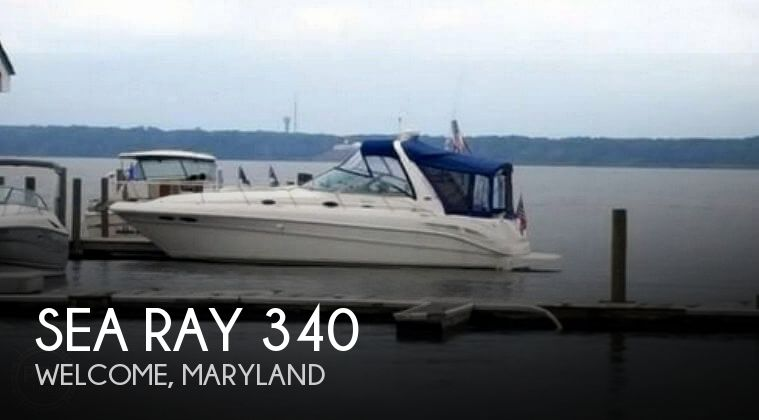 Used Sea Ray Boats For Sale in Maryland by owner | 2001 Sea Ray 340 Sundancer