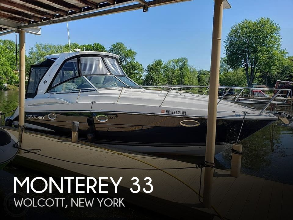 Used Boats For Sale in New York by owner   2015 Monterey 33