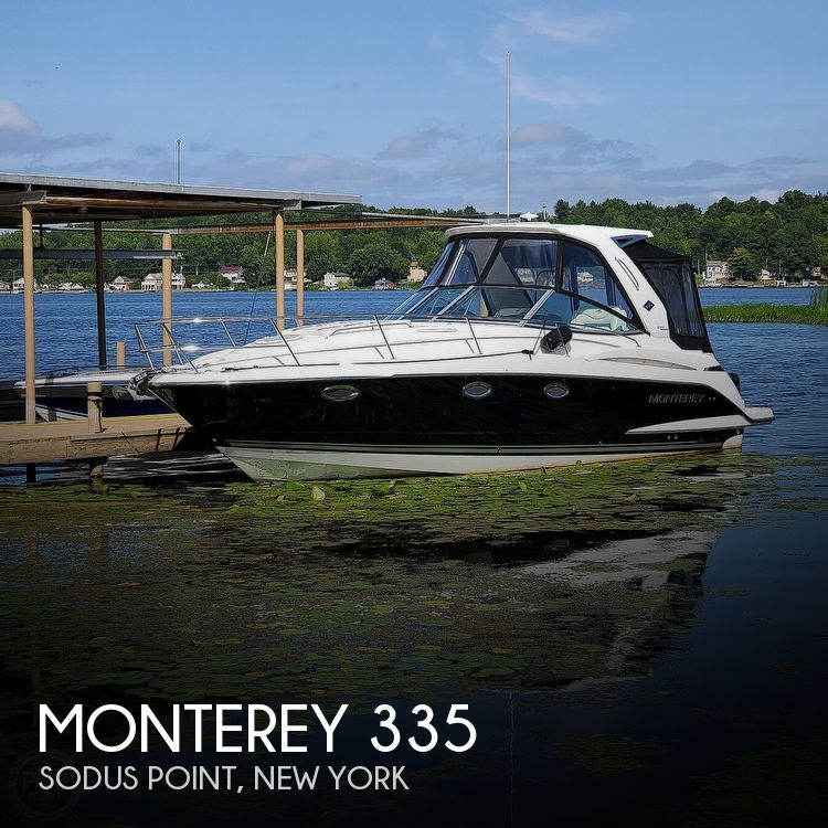 2015 Monterey boat for sale, model of the boat is 335 Sport yacht & Image # 1 of 40