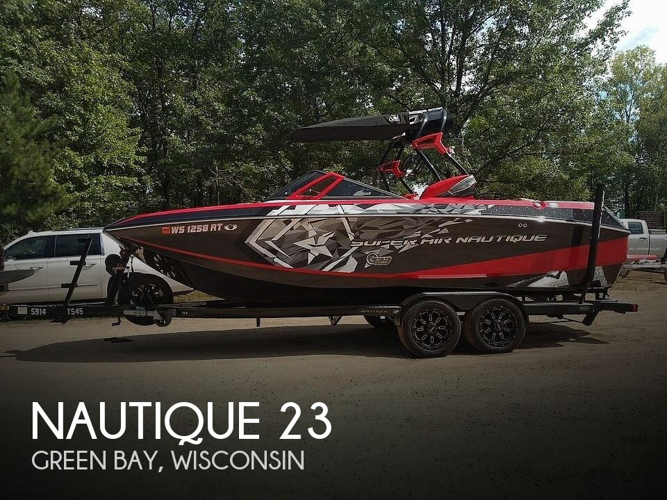 Used Boats For Sale in Wisconsin by owner | 2015 Nautique 23