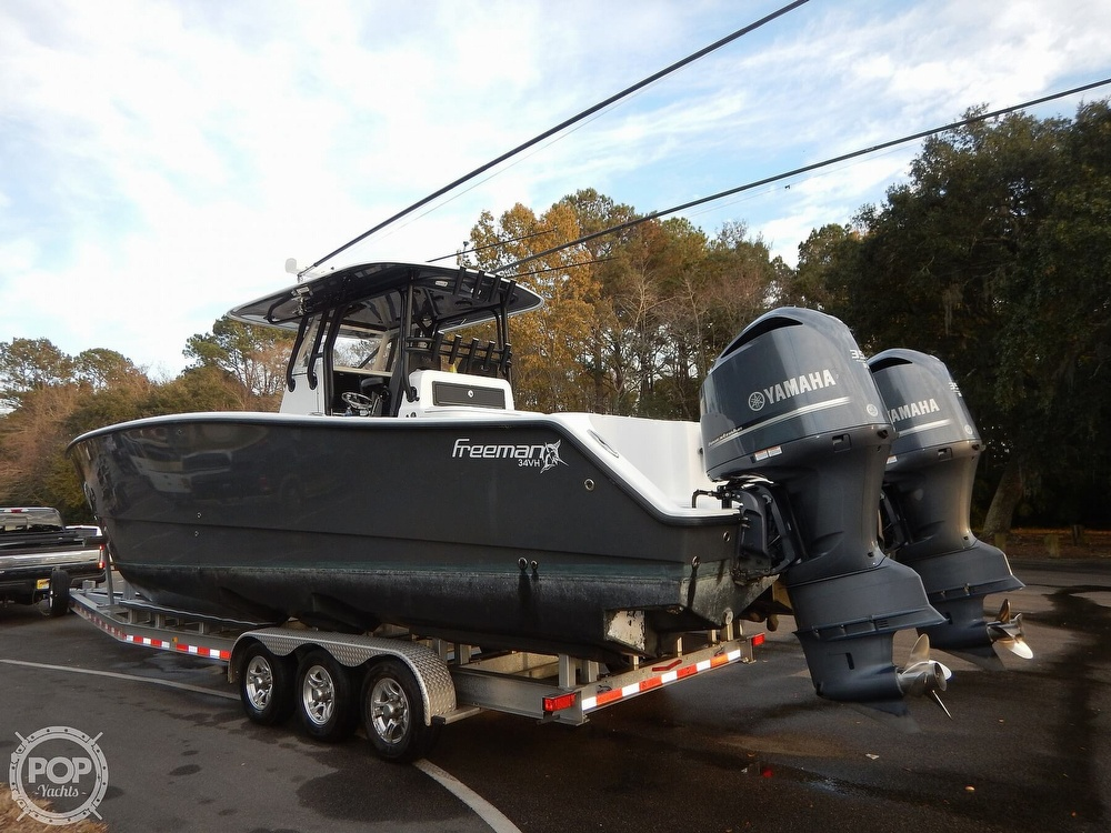 2016 Freeman boat for sale, model of the boat is 34VH & Image # 2 of 31
