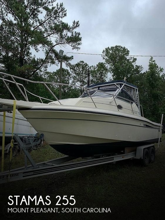 1986 Stamas boat for sale, model of the boat is 255 & Image # 1 of 41