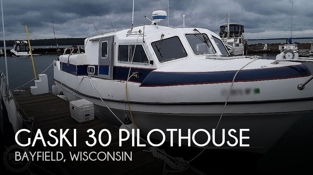 2002 Gaski boat for sale, model of the boat is 30 Pilothouse & Image # 1 of 3
