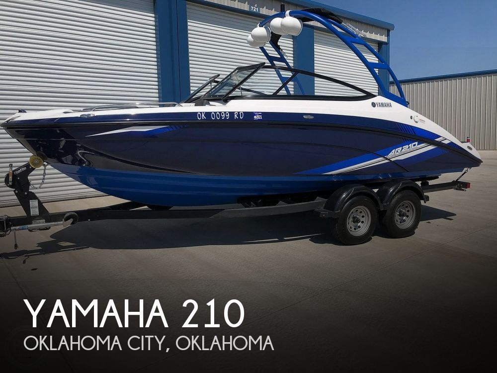 Used Boats For Sale in Oklahoma City, Oklahoma by owner | 2020 Yamaha 210