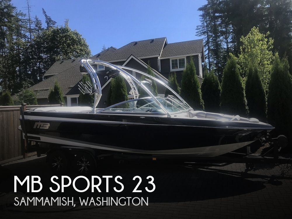 2012 MB Sports boat for sale, model of the boat is B52 Widebody 23 & Image # 1 of 40