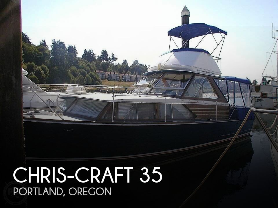 1966 Chris Craft boat for sale, model of the boat is 35 & Image # 1 of 14