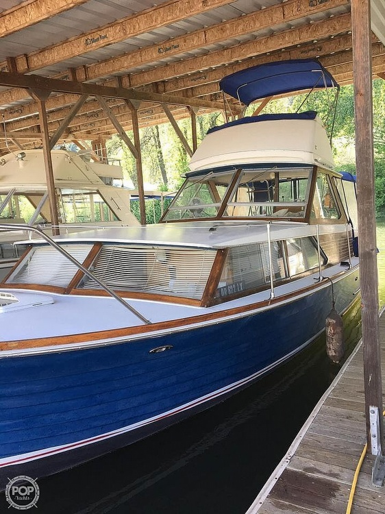 1966 Chris Craft boat for sale, model of the boat is 35 & Image # 12 of 14