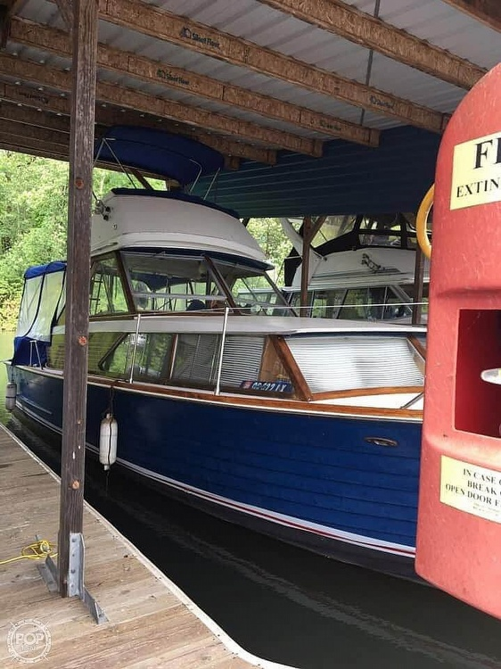 1966 Chris Craft boat for sale, model of the boat is 35 & Image # 13 of 14