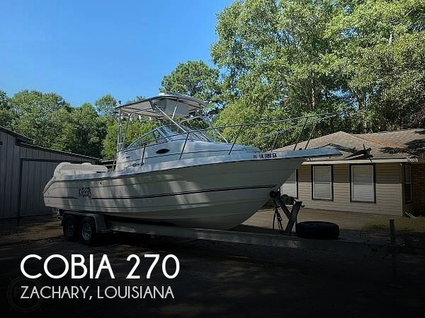 Used Cobia Boats For Sale by owner | 2003 Cobia 270 walkaround