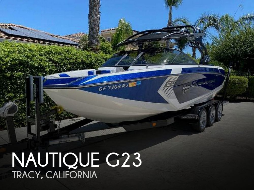 Used Boats For Sale in Santa Cruz, California by owner | 2017 Nautique 23