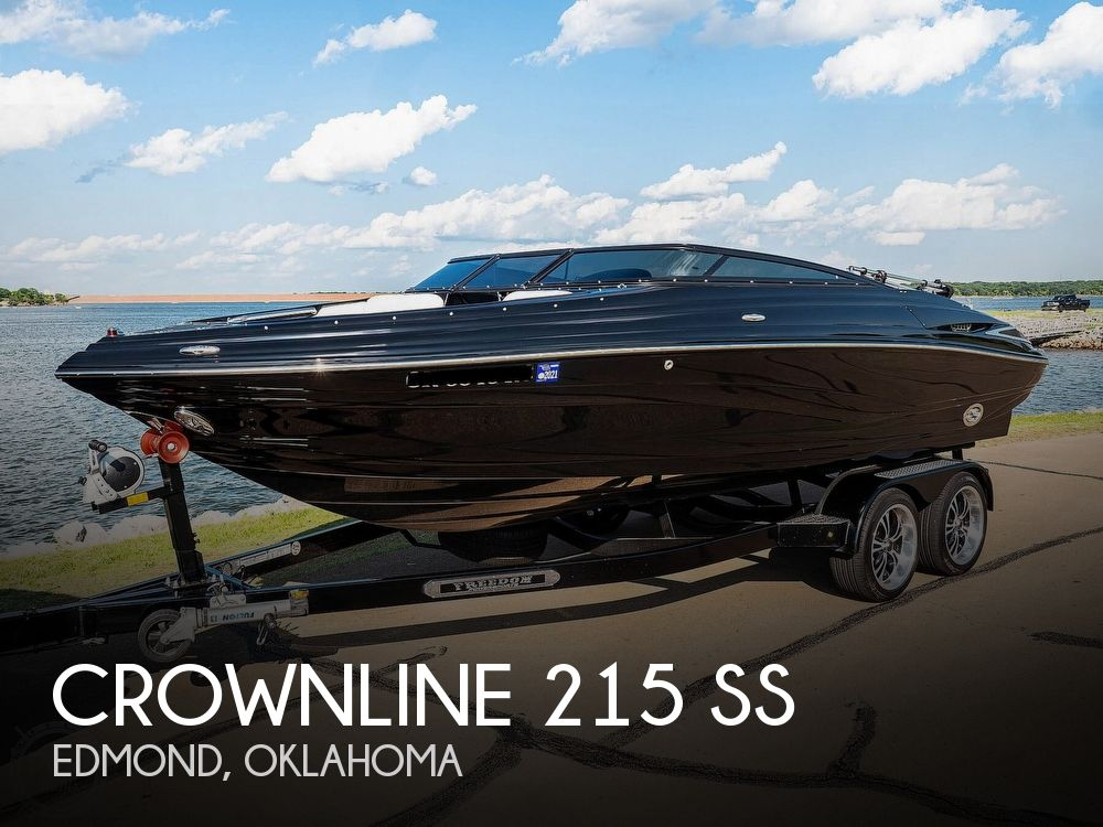 2014 Crownline boat for sale, model of the boat is 215 SS & Image # 1 of 40