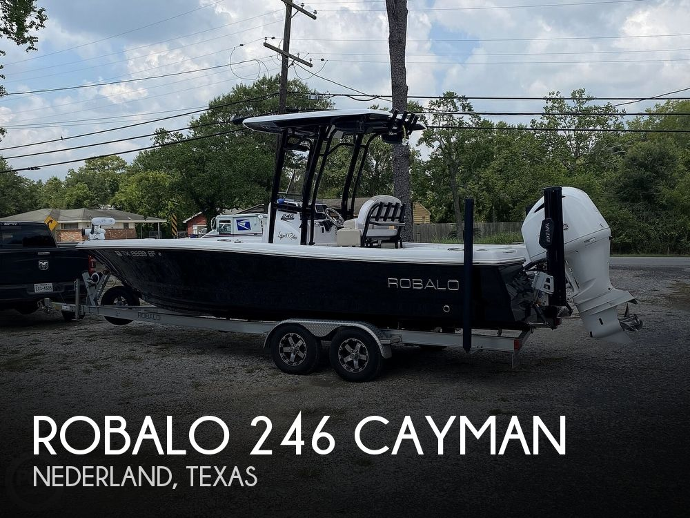 Used Robalo Boats For Sale by owner | 2018 Robalo 246 Cayman