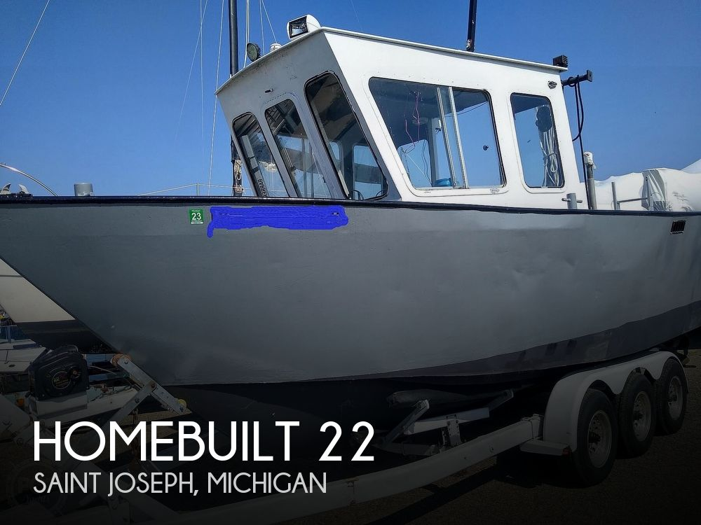 2012 Homebuilt boat for sale, model of the boat is Pilothouse 22 & Image # 1 of 40