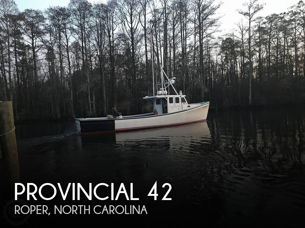 Used Power boats For Sale in North Carolina by owner | 1995 Provincial 42