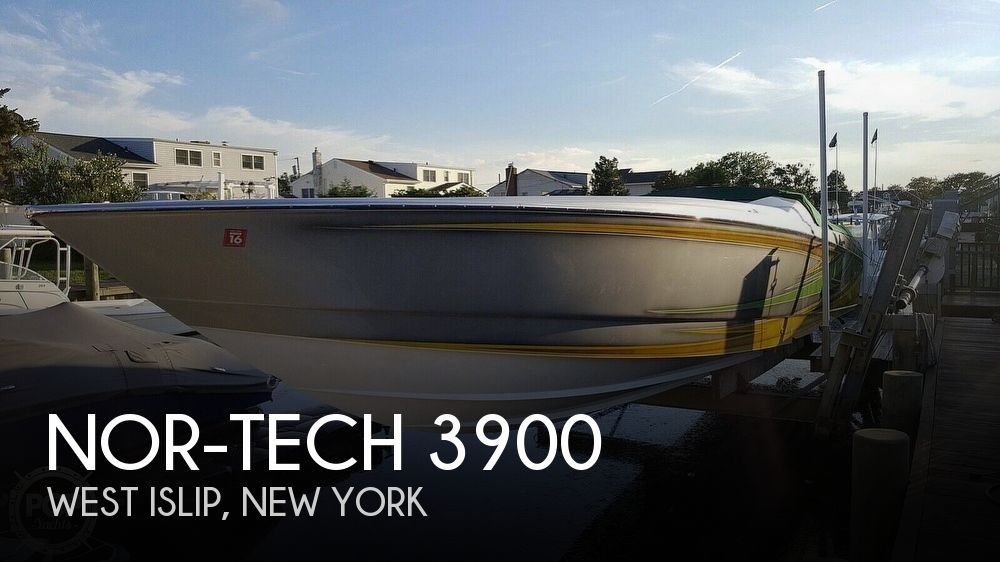 Used High Performance Boats For Sale by owner | 2005 Nor-Tech 3900 Super-Vee