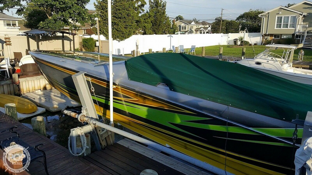 2005 Nor-tech boat for sale, model of the boat is 3900 Super-Vee & Image # 13 of 40