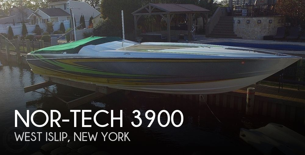2005 Nor-tech boat for sale, model of the boat is 3900 Super-Vee & Image # 1 of 40
