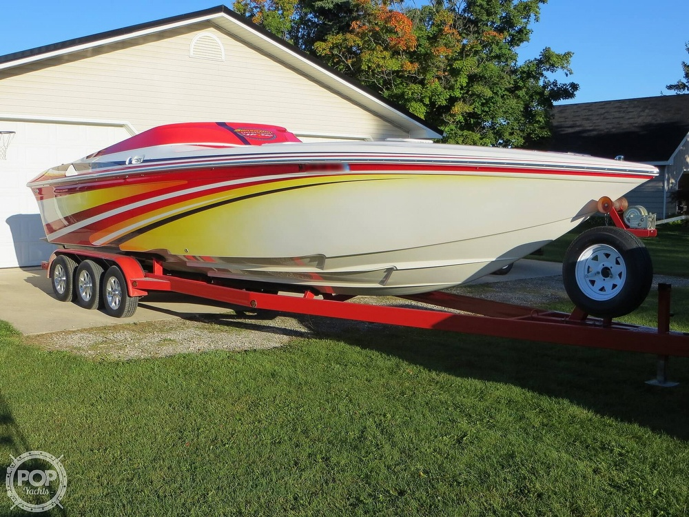 2007 Sunsation boat for sale, model of the boat is 32 Dominator SS & Image # 2 of 40