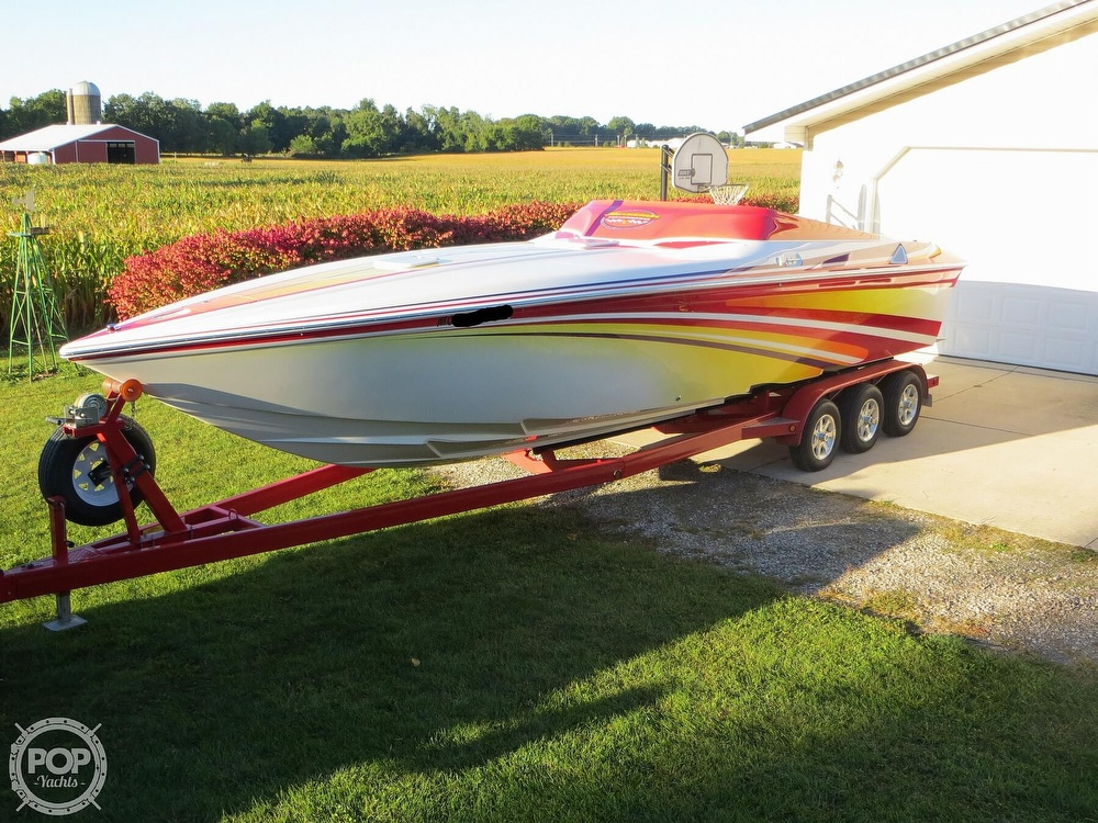 2007 Sunsation boat for sale, model of the boat is 32 Dominator SS & Image # 13 of 40