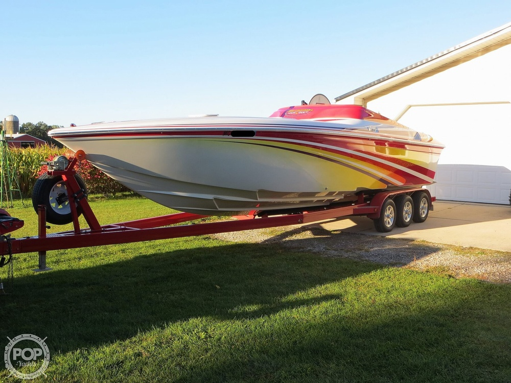 2007 Sunsation boat for sale, model of the boat is 32 Dominator SS & Image # 14 of 40